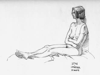 Figure Drawing: Cynthia 01 by StudioMONDO