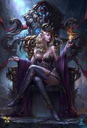 Witch by GjschoolArt