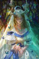 Butterfly Girl by GjschoolArt