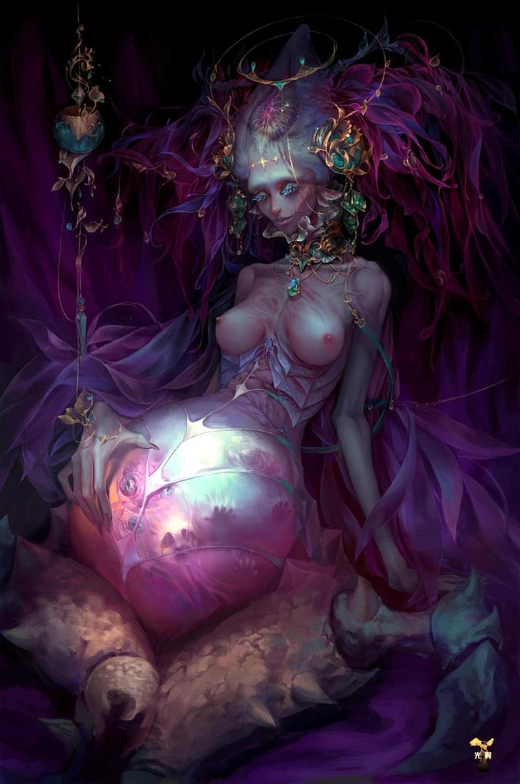 birth of Devil by GjschoolArt