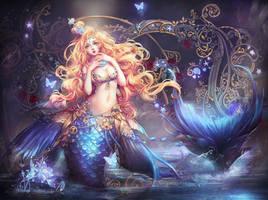 Magic girl by GjschoolArt