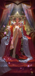 Queen of the Royal Palace by GjschoolArt