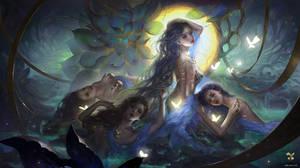 Princesses of Heaven by GjschoolArt