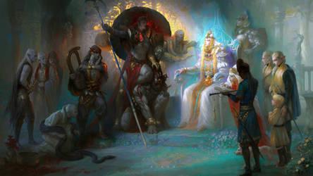 King's Negotiation by gyxycn