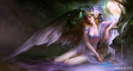 Fallen Angel by gyxycn