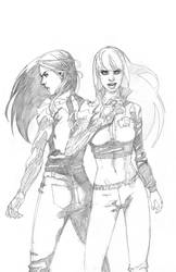 Witchblade-s by NelsonBlakeII