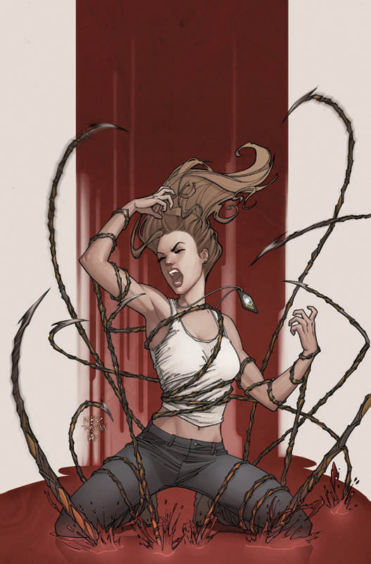 Witchblade 132 by NelsonBlakeII