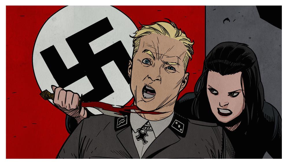 Nazis May Die by NelsonBlakeII