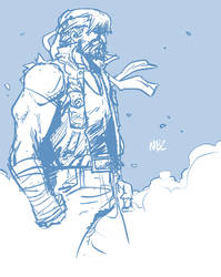 Axel Streets of Rage 4 sketch