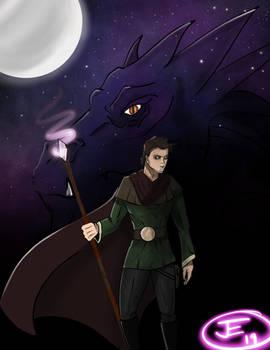 A boy and his starlight dragon