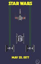 Star Wars Release Poster (Original)
