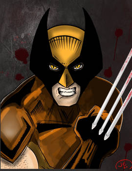 The Wolverine...masked.