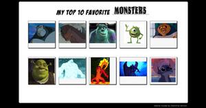 My 10 Favorite Monsters