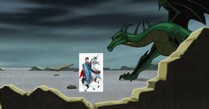 Prince Phillip Fights Morgaine Le Fay