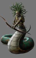 The Gorgon by razwit