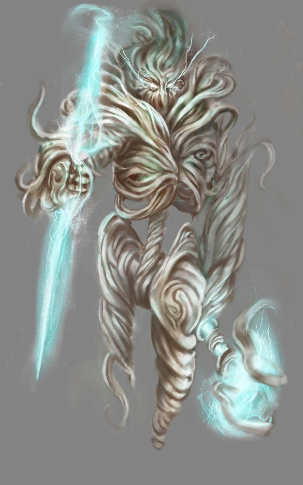 Displaying 16> Images For - Anime Wind Warrior... Earth Elemental Boy