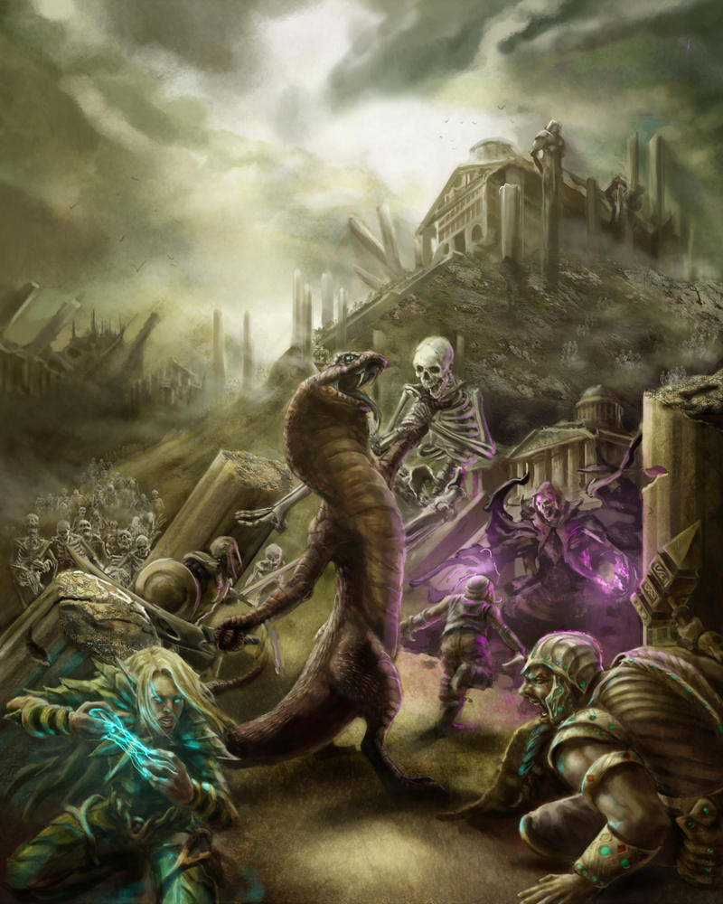 Undead Ruins: Heroes' Tears by razwit