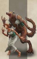 Werewolf by razwit