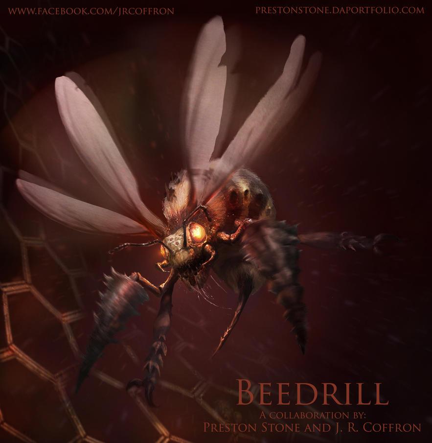 Beedrill, the Pokemonstrosity by razwit