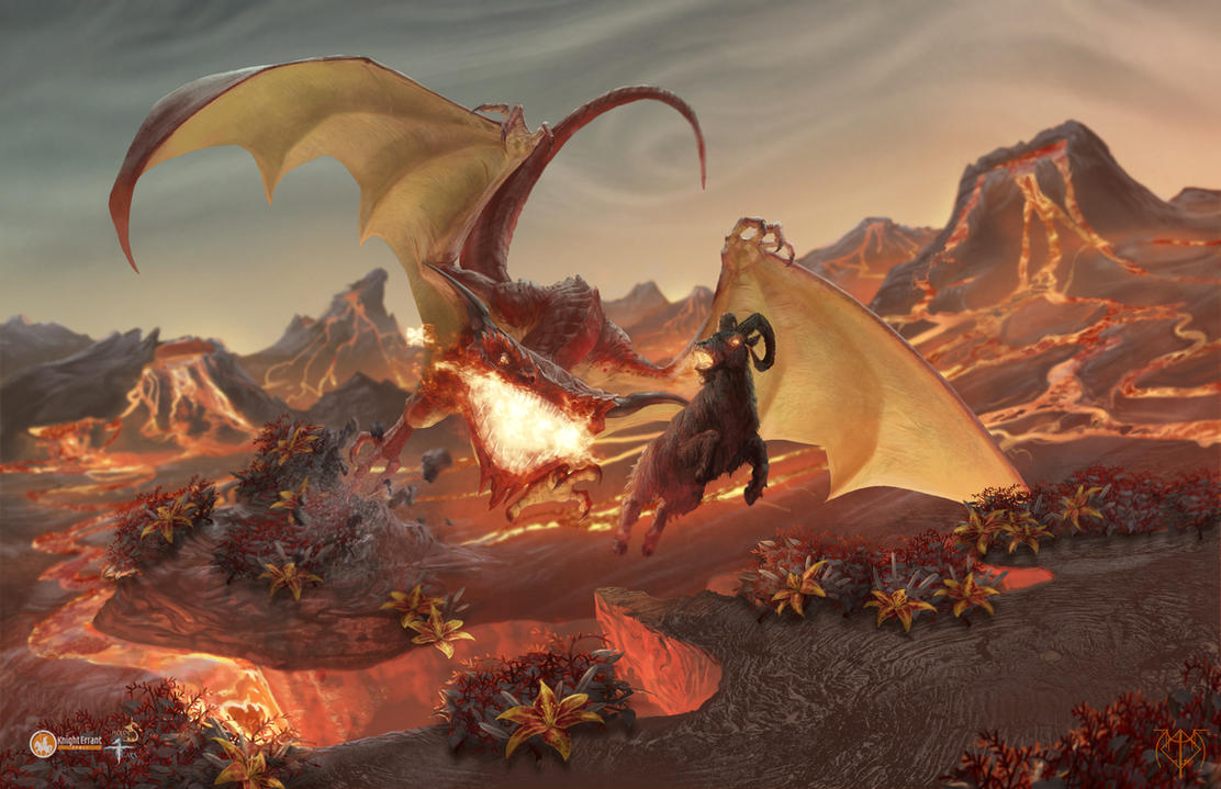 Fire Environment by razwit