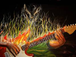 guitar man by razwit
