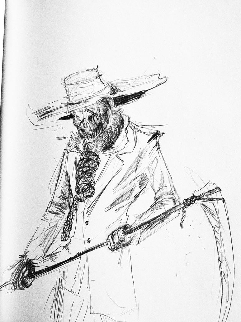 scarecrow by razwit