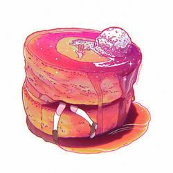 Pancake doodle