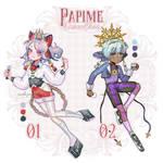 [OPEN] CS Papime: Contour Series: R01 R02