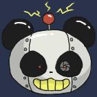 Robot Panda by LunarEden