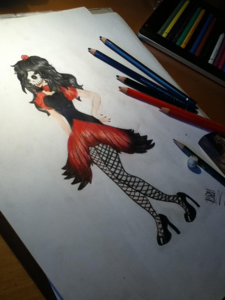 Girl In Red 2 by Pobepom