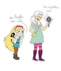 Star vs the forces of evil crossover Disenchanted by Pobepom