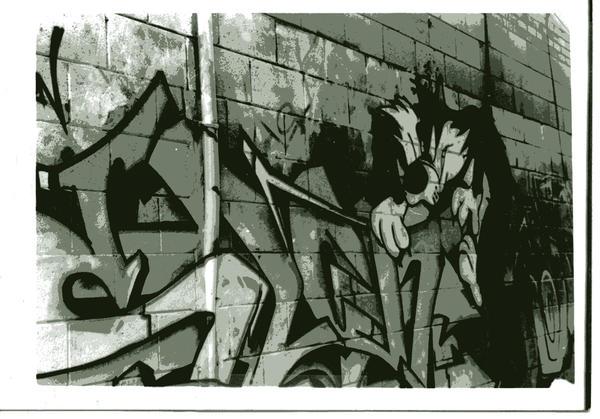 graffiti by Sungreenandtangerine