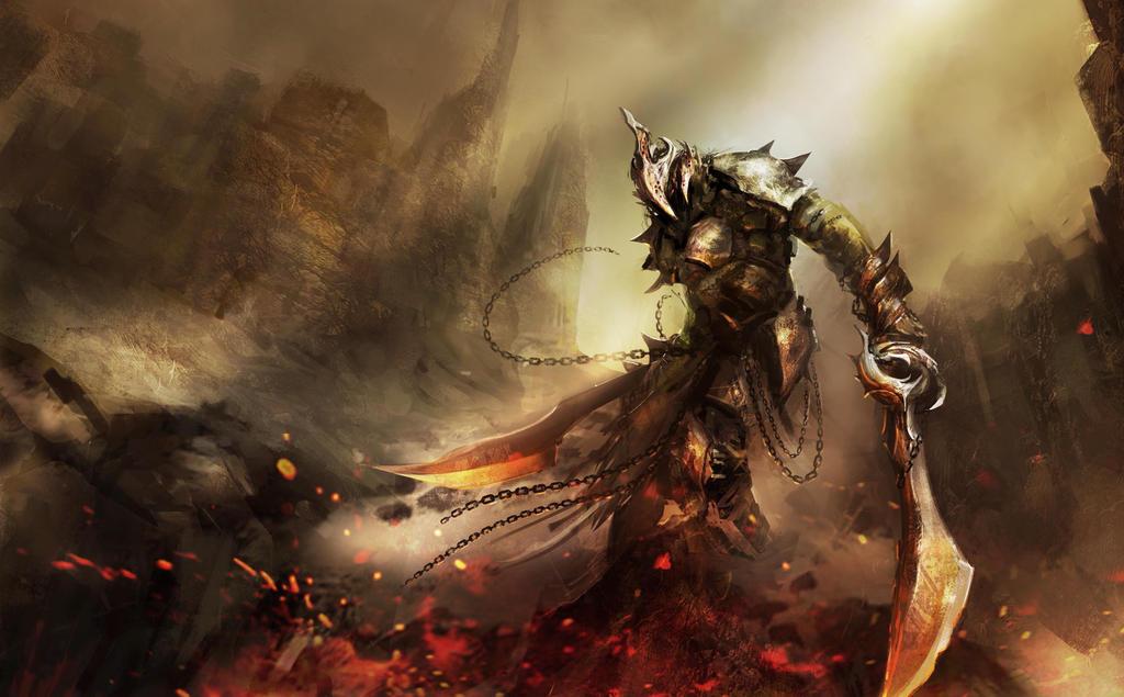 Badass Warrior I Found By Ethen2885