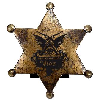 Sheriff Star by Von Marmalade by Mercenarios-de-DIOS