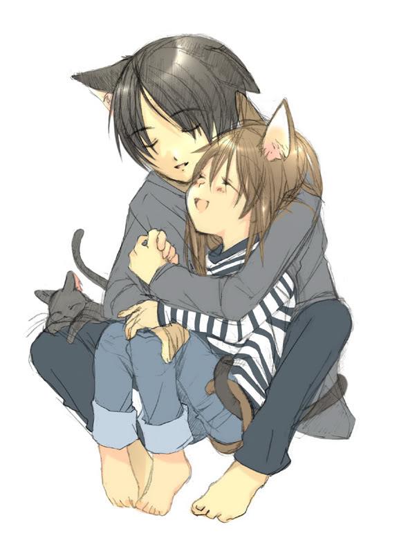 Neko Anime Couples