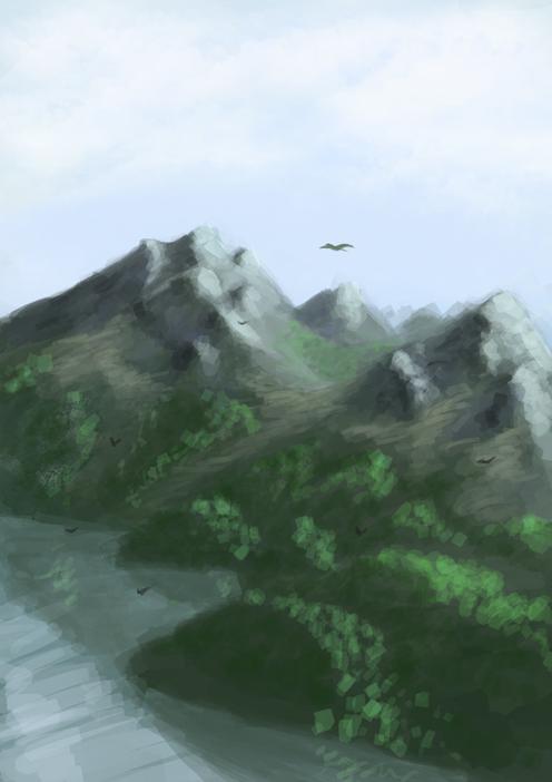Mountains by BigDub