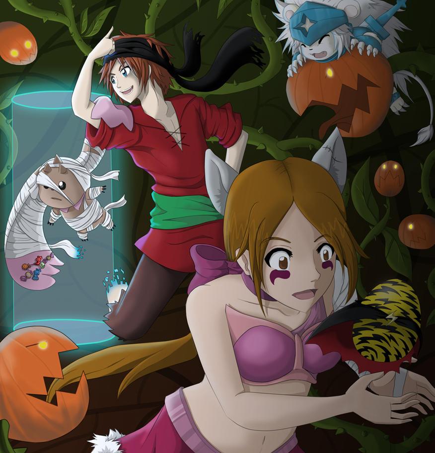 BnB: Halloween 2014 by Puli-wind