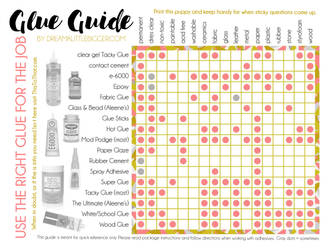 Glue Guide Reference Chart