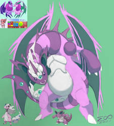 Pokemon of the Week Fusion: Nidoking Mega Ampharos