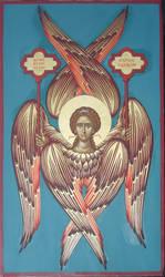 Six wings, Seraphim