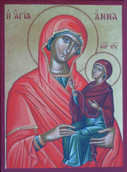 St. Anna, the mother of the Theotokos