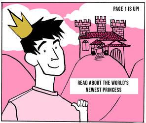 Bro Hime Comic Page 1