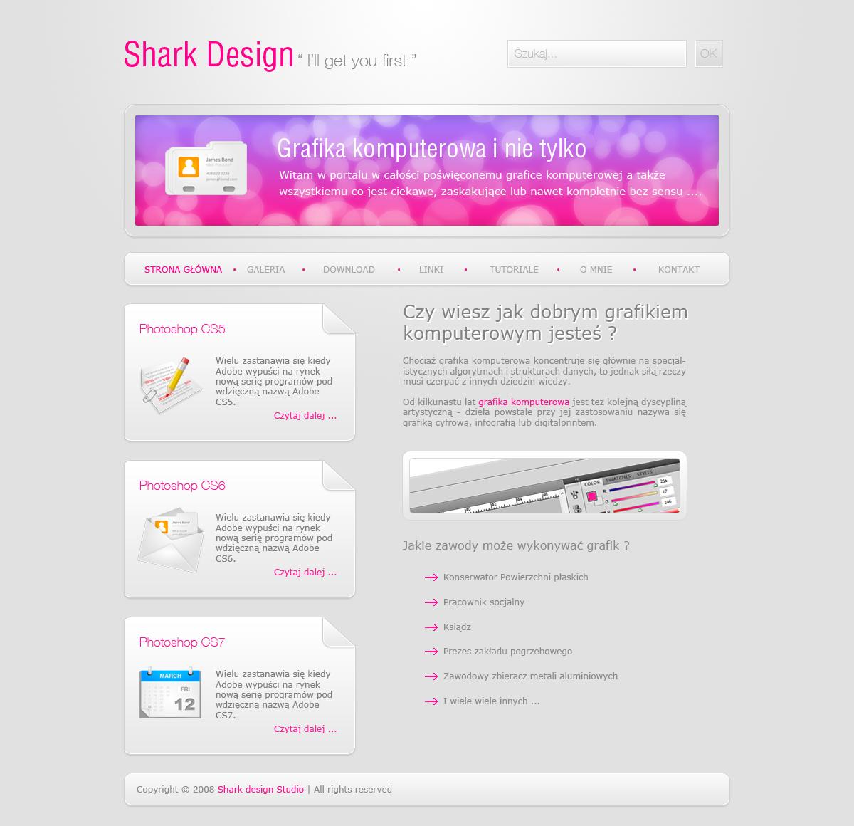 Cool Design Layout by sharkkk