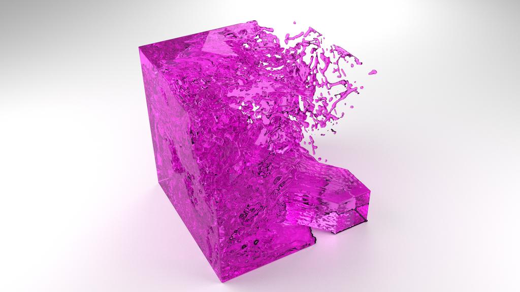 Blender water simulation test render #1 by sharkkk