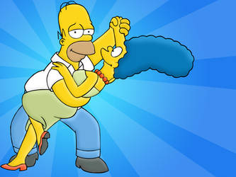 The Simpsons by sharkkk