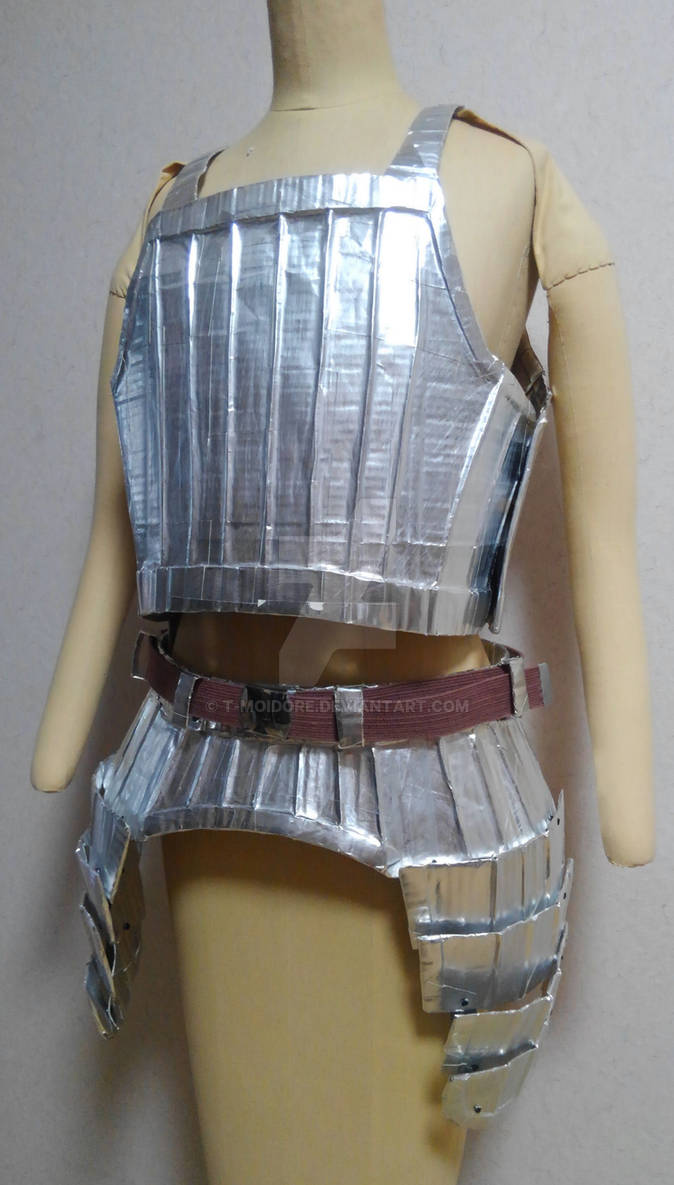 Fluted cuirass and fauld