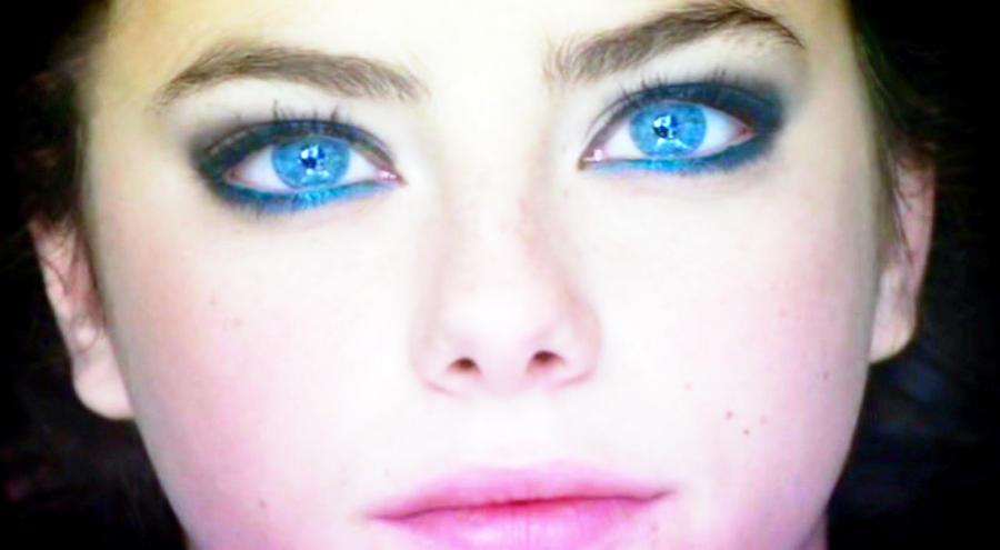 stunning eyes pink blue - photo #39