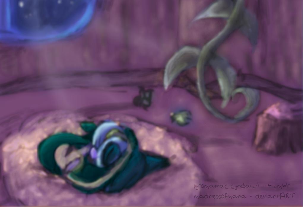 Goodnight... by MadnessOfMana