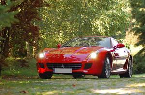Ferrari 599 GTB Fiorano 1 by Hlor