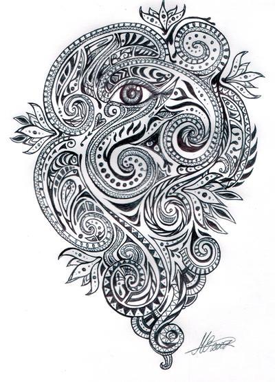 Tattoos Wings  on Back Tattoos